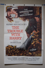 The Trouble With Harry Alfred Hitchcock Film Poster - One Sheet
